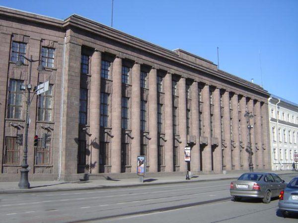 Здание Германского Посольства. Санкт-Петербург