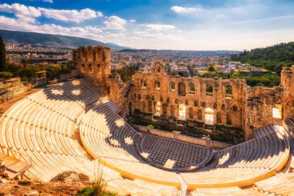 Афины в ноябре
