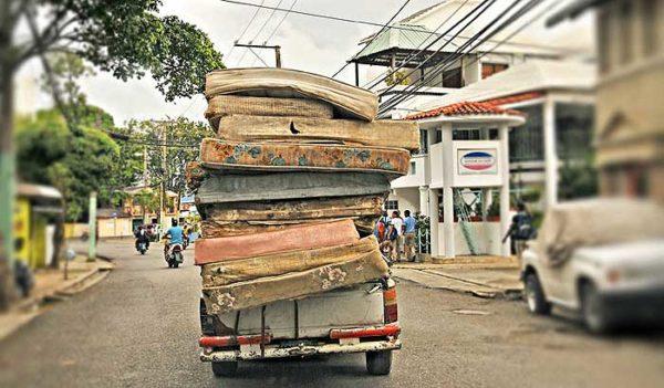 Движение автомобиля в Доминикане