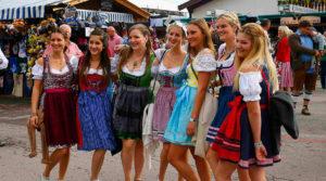 Ежегодный праздник баварского пива Октоберфест