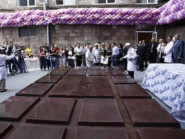 Фестиваль «ЕвроШоколад» в Италии