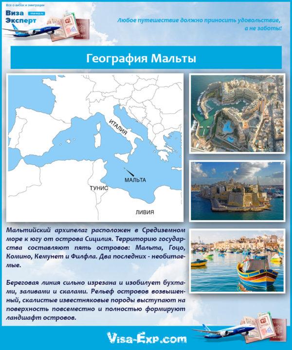 География Мальты