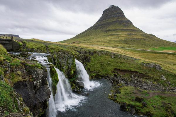 Гора Киркьюфетль в Исландии