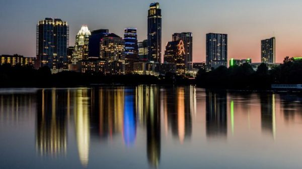 Город Остин - столица Техаса