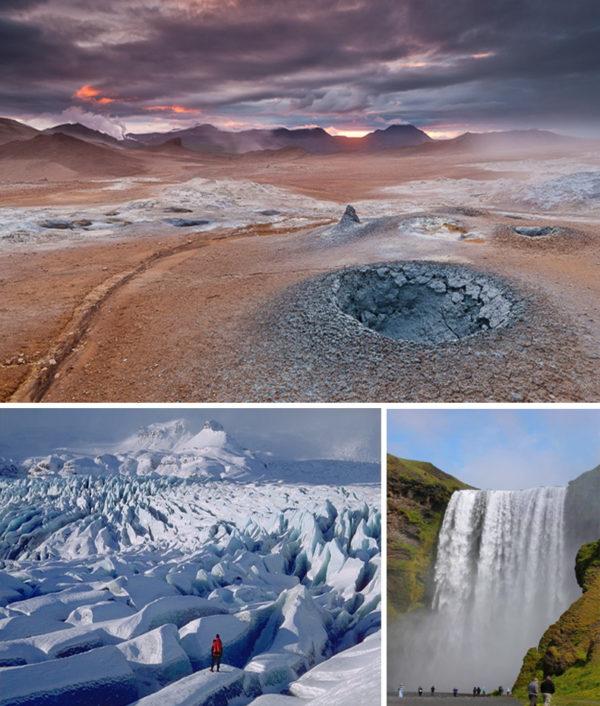 Исландия. Мистические ландштафты