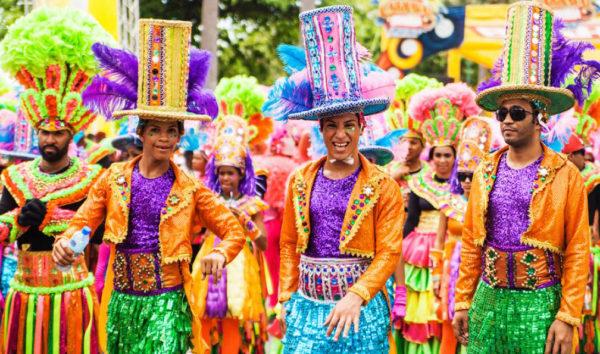 Карнавал в столице Доминиканы - главный праздник страны
