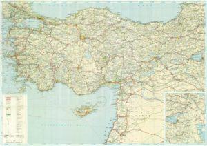 Карта дорог в Турции