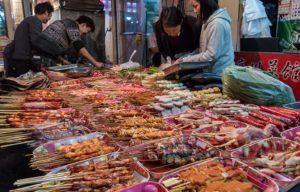 Китайская уличная еда