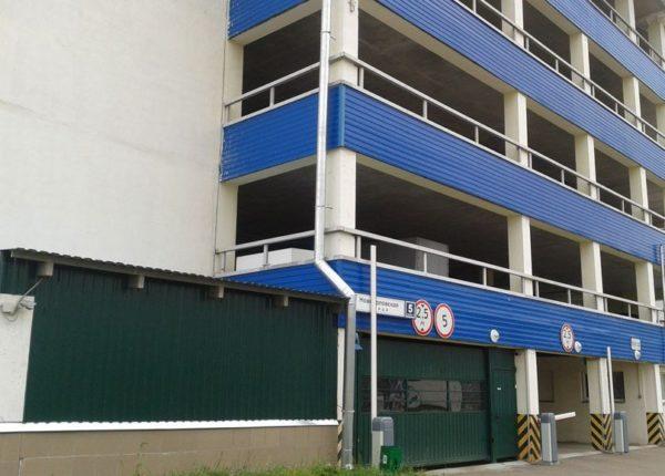 Многоуровневый паркинг во Внуково