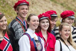 Норвежские студенты