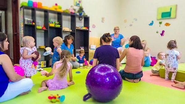 Обучение детей начинается с детского сада