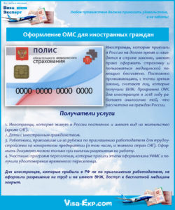 Оформление ОМС для иностранных граждан