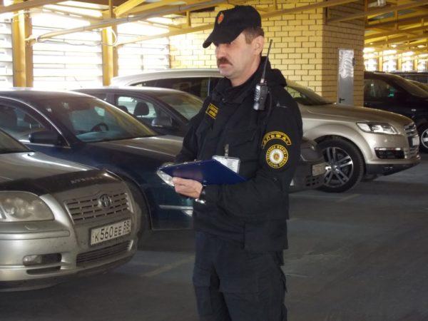 Охрана в паркинге «Паркплац Внуково»