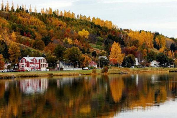 Осень в Исландии