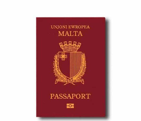 Паспорт гражданина Мальты
