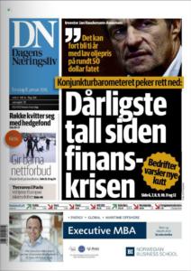 Печатное издание Dagens Naeringsliv