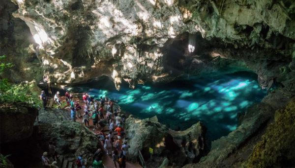 Пещера «Три глаза» в Санто-Доминго