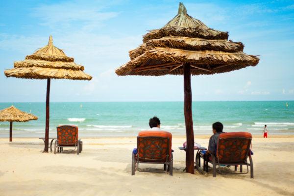 Пляж Вунгтау во Вьетнаме