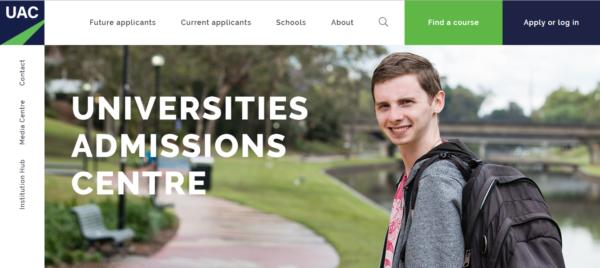Подать заявку в университет можно через сервис Universities Admissions Centre