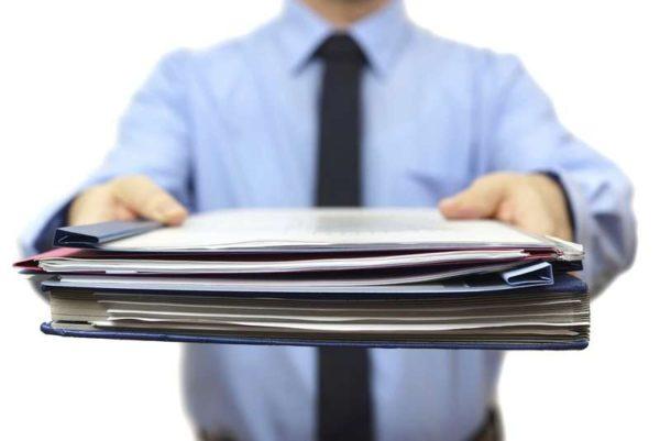 Подготовка документов для получения справки