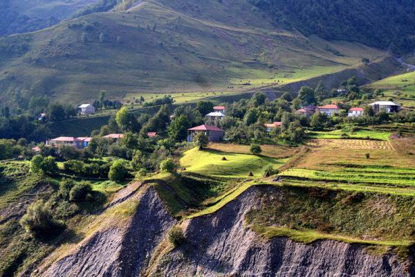 Поселок Казбеги