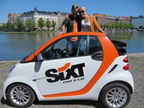 Прокат автомобилей «Sixt»