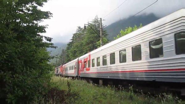 Путешествие в Абхазию поездом