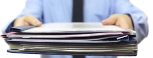 Шаг 1 - предоставить все необходимые документы работодателю