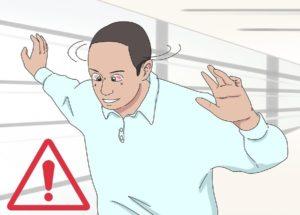 Следите за признаками головокружения
