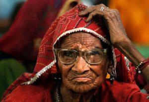 В Индии не все пенсионеры могут рассчитывать на финансовую поддержку от государства