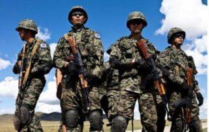 В Южной Корее каждый мужчина служит в армии
