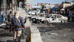 В Йемене на сегодняшний день продолжаются столкновения между правительством и хуситами