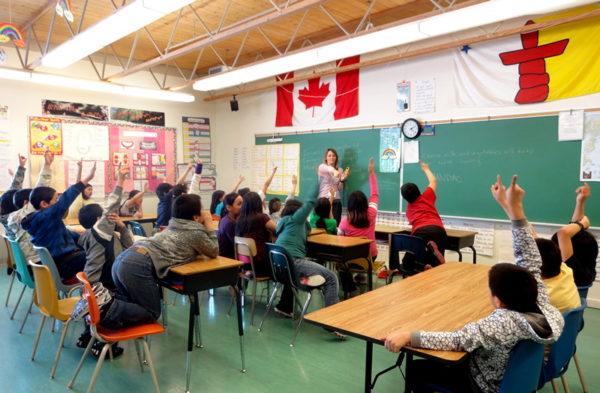 В канадской школе