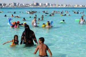 В сезон в Мерса-Матрух отдыхает половина населения нижнего Нила и Каира