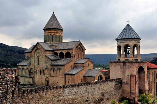 В течении тысячи лет Светицховели Мцхета являлся главным собором Грузии