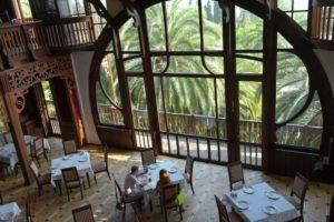 Вид из ресторана Гагрипш