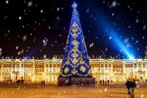 Встреча Нового года в Санкт-Петербурге