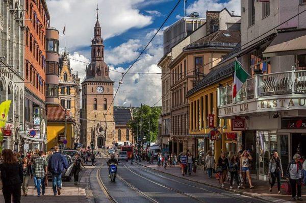 Жители Норвегии гостеприимны и дружелюбны