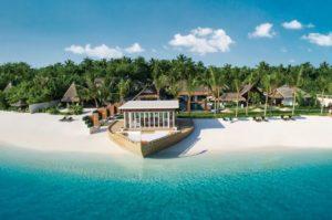 Белоснежные пляжи Мальдив