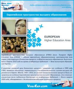 Европейское пространство высшего образования