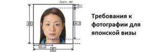 Каким требованиям должна соответствовать фотография на японскую визу