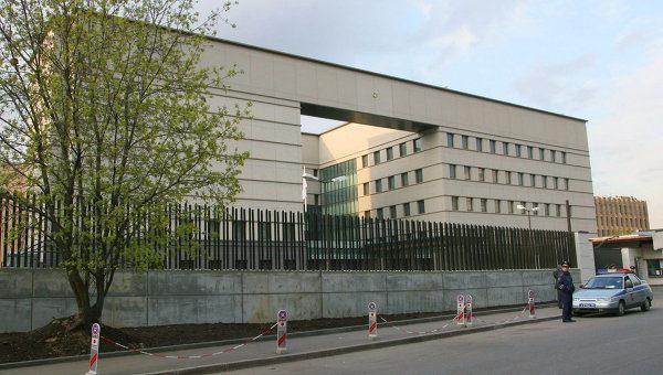 Посольство Японии, расположенное в Красносельском районе Москвы