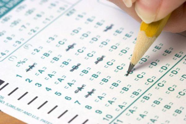 Практически все тестирования проводятся письменно