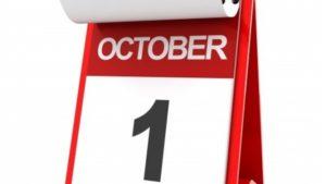 Учебный год начинается 1 октября