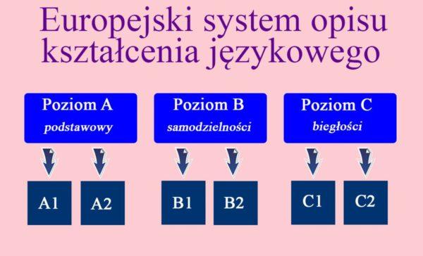 Уровни знания польского языка