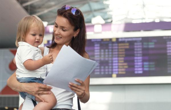 Выезд ребенка за границу без согласия отца