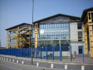 Здание технического университета в Милане