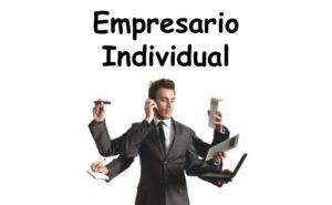 Empresario Autonomo либо Individual