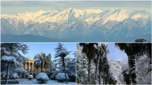 Абхазия зимой