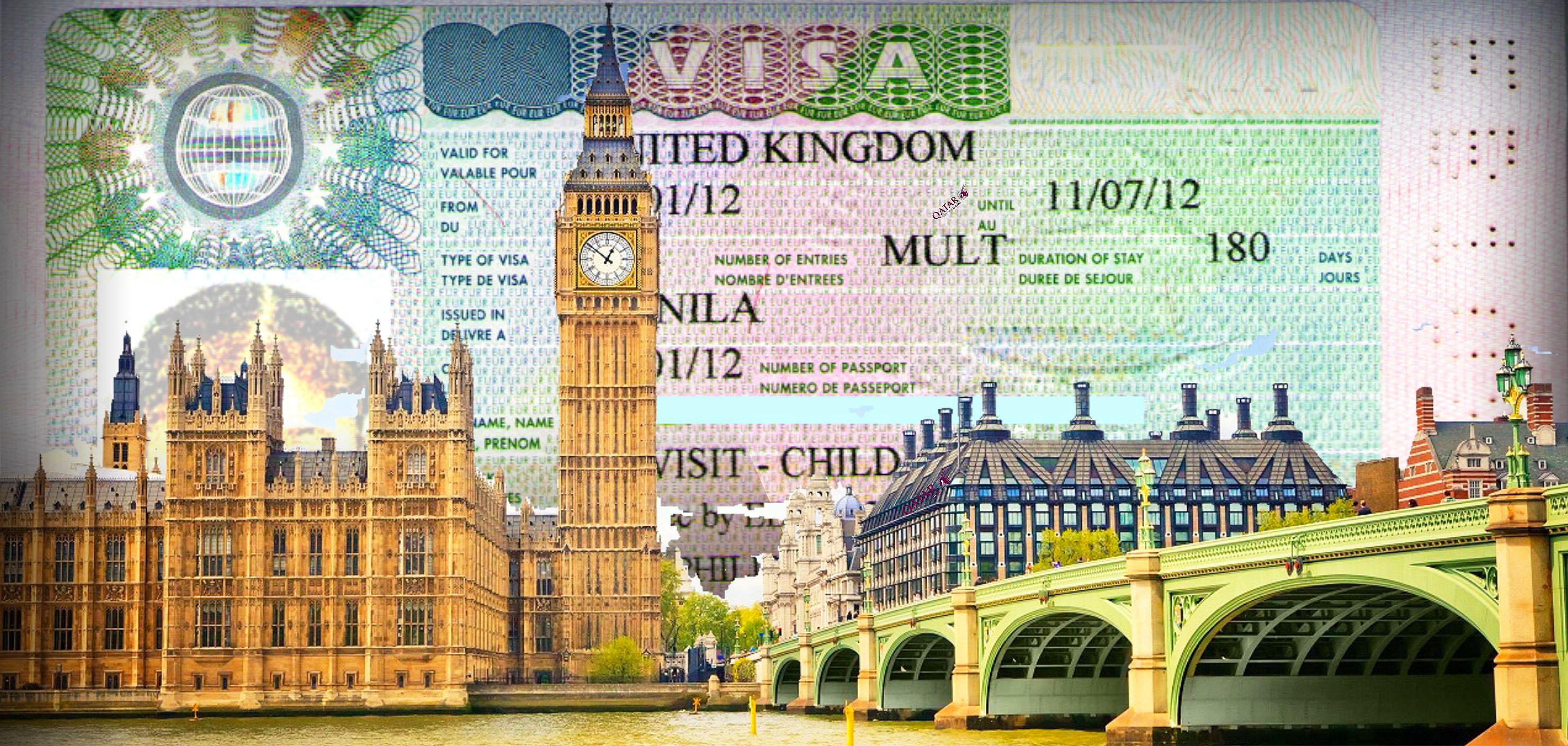 Как сделать визу в англию